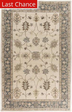 Rugstudio Sample Sale 112378R Grey/Ivory Area Rug