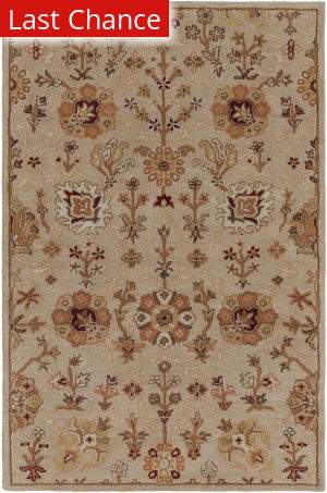 Rugstudio Sample Sale 137541R Beige Area Rug
