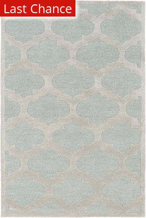 Rugstudio Sample Sale 137517R Light Blue - Gray Area Rug