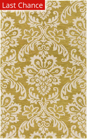 Rugstudio Sample Sale 150337R Gold - Off-White Area Rug