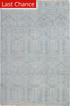 Rugstudio Sample Sale 158960R Light Blue Area Rug