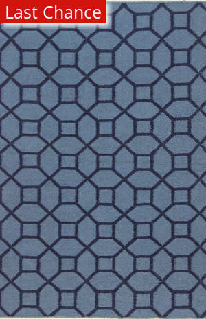 Rugstudio Sample Sale 127753R Blue Area Rug