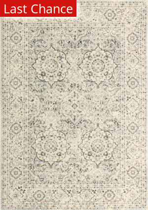 Rugstudio Sample Sale 175661R Silver Area Rug