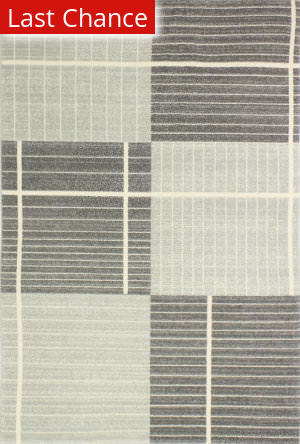 Rugstudio Sample Sale 175674R Silver Area Rug