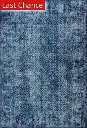 Rugstudio Sample Sale 183241R Navy Area Rug