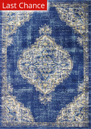 Rugstudio Sample Sale 204910R Navy Area Rug