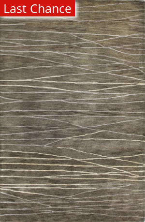 Rugstudio Sample Sale 127692R Taupe Area Rug