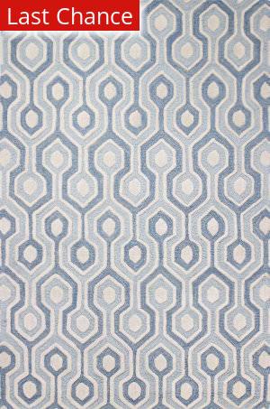 Rugstudio Sample Sale 159237R Light Blue Area Rug