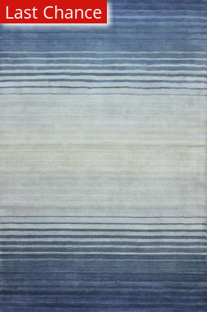 Rugstudio Sample Sale 183246R Blue Area Rug