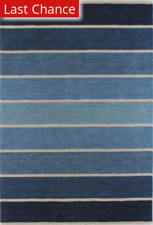 Rugstudio Sample Sale 127670R Blue Area Rug
