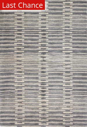 Rugstudio Sample Sale 127654R Grey Area Rug