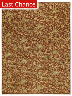 Rugstudio Sample Sale 43619R Red Henna Area Rug