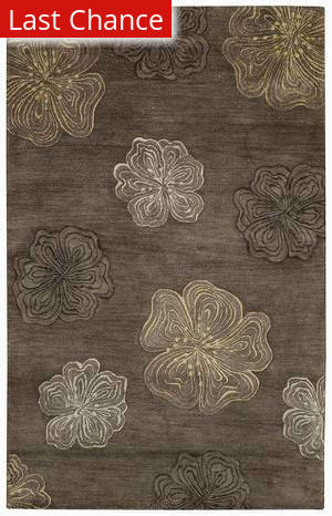 Rugstudio Sample Sale 43667R Brown Area Rug