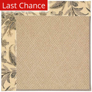 Rugstudio Sample Sale 55574R Neutral/Tropical Area Rug