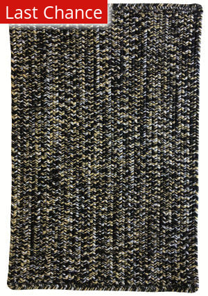 Rugstudio Sample Sale 196517R Black Gold Area Rug