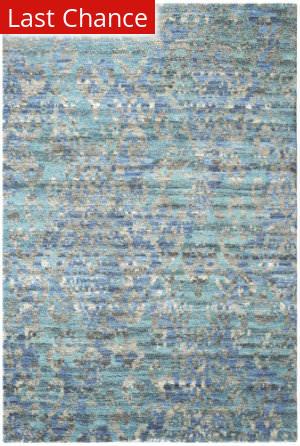 Rugstudio Sample Sale 193861R Blue Area Rug