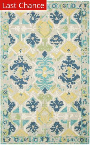 Rugstudio Sample Sale 204559R Blue Area Rug