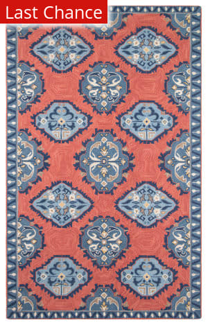Rugstudio Sample Sale 180295R Newport Red Area Rug