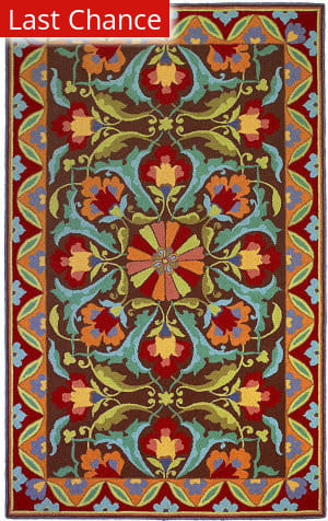 Rugstudio Sample Sale 125440R Mocha Area Rug