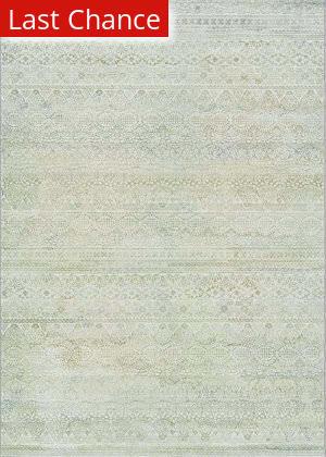 Rugstudio Sample Sale 172760R Ivory - Light Grey Area Rug