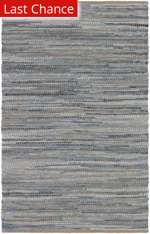 Rugstudio Sample Sale 173153R Denim Area Rug