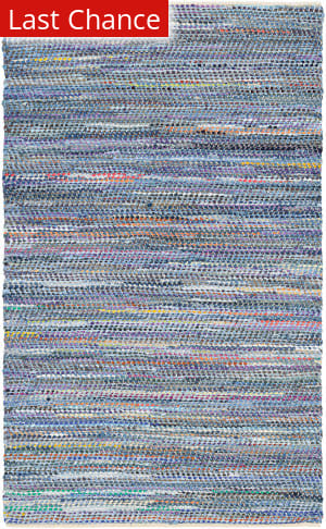 Rugstudio Sample Sale 173152R Denim - Multi Area Rug