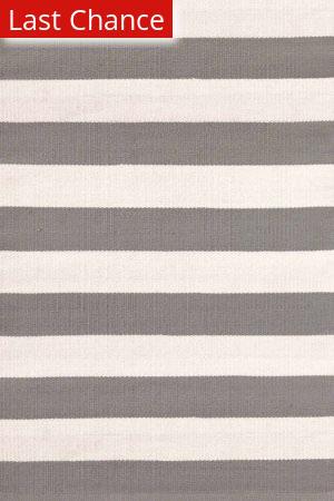 Dash And Albert Catamaran Stripe 105470 Fieldstone/Ivory Area Rug