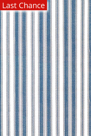 Dash and Albert Lighthouse 56218 Denim/White Area Rug