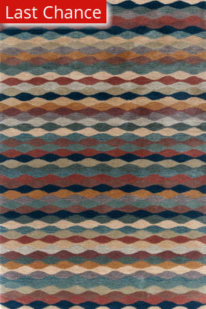 Dash And Albert Ripple 72664 Cinnamon Area Rug