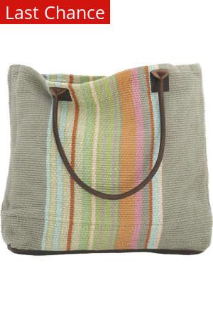 Rugstudio Sample Sale 60351R Woven Cotton Tote Bag