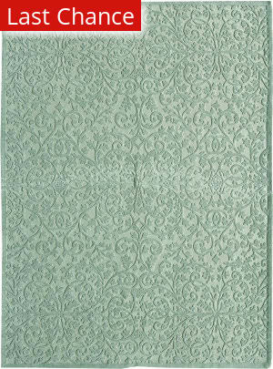 Rugstudio Sample Sale 167691R Sea Foam Area Rug
