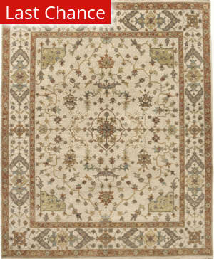 Rugstudio Sample Sale 168168R Cream Area Rug