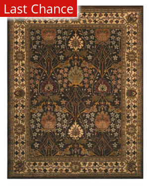 Eastern Rugs Classic Ot31bn Brown Area Rug