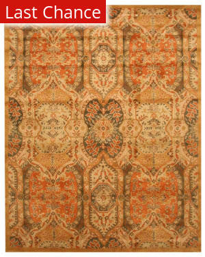 Rugstudio Sample Sale 142638R Gold Area Rug