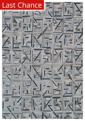 Rugstudio Sample Sale 190849R Gray - Blue Area Rug