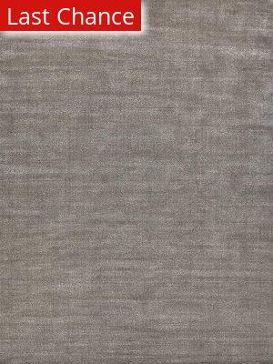 Rugstudio Sample Sale 190647R Silver - Dark Gray Area Rug