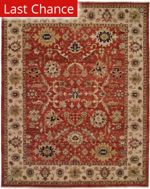 Famous Maker Bastrop 100581 Red Area Rug