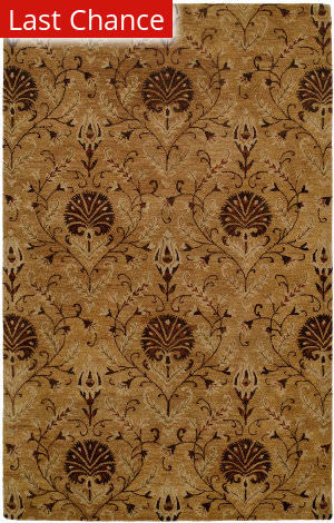 Rugstudio Sample Sale 64296R Bisque / Brown Area Rug