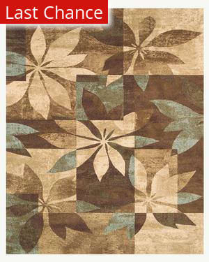 Famous Maker Taylor 44605 Mystic Blue Multi Area Rug