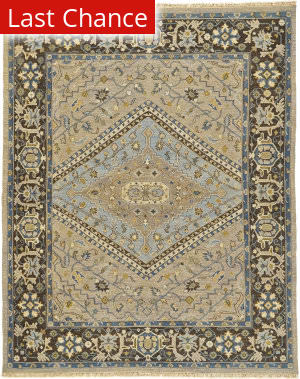 Rugstudio Sample Sale 184874R Smoke - Gray Area Rug