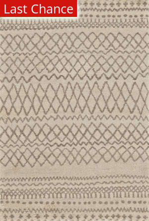 Rugstudio Sample Sale 184677R Natural - Ivory Area Rug