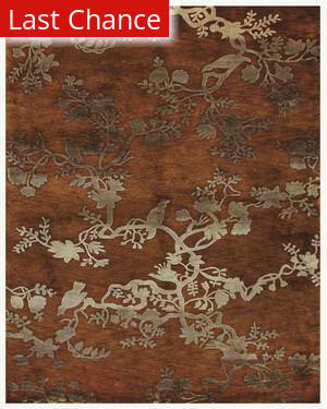 Famous Maker Brian 44565 Rust Area Rug