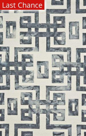 Rugstudio Sample Sale 184991R Noir Area Rug