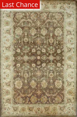 Rugstudio Famous Maker 39987 Brown Area Rug