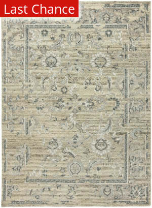 Rugstudio Sample Sale 183154R Natural - Blue Area Rug