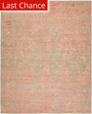 Rugstudio Sample Sale 183176R Grey - Rose Area Rug