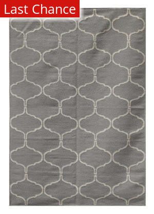 Rugstudio Sample Sale 70054RR Medium Gray Outlet Area Rug
