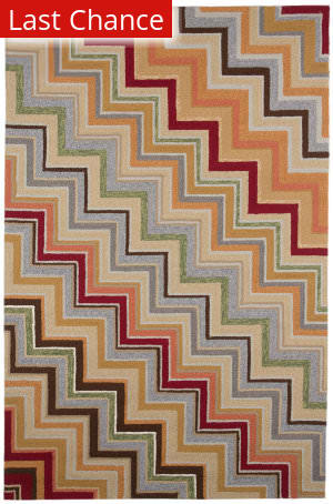 Jaipur Living Colours I-O What's Your Angle CO05 Deep Charcoal Area Rug
