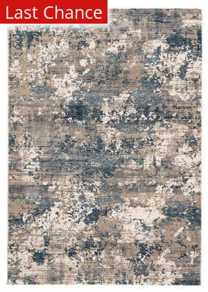 Rugstudio Sample Sale 195415R Blue Area Rug