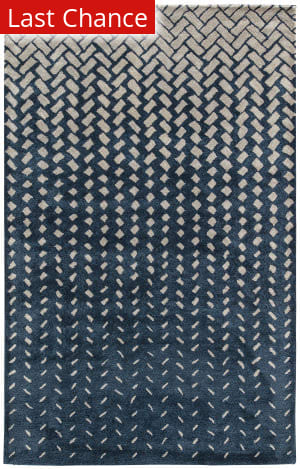 Rugstudio Sample Sale 158212R Drizzle and White Swan Area Rug